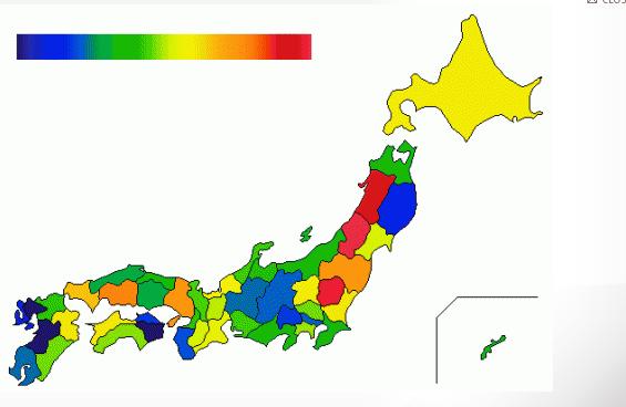 Low Dose Symptoms Map Fukushima Diary - Japan map 2016