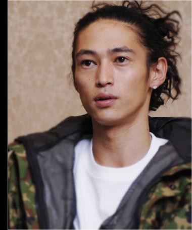 A Japanese actor Kubozuka Yosuke evacuated his family from Tokyo