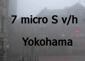 7 microSv/h in Yokohama