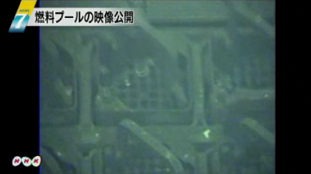 Tepco released the video of the SFP of reactor 4 2