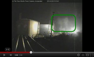 Steam from Fukushima plants5