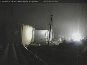 Thick smoke from Fukushima plants again