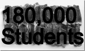Cesium beef has been eaten by 180,000 students