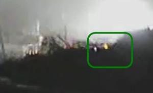 Fire or light at Fukushima plants2