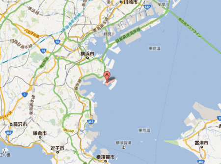 130 million Bq of cesium has leaked to Tokyo bay from Yokohama