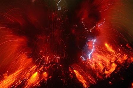 Sakurajima erupted3
