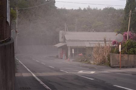 Sakurajima erupted4