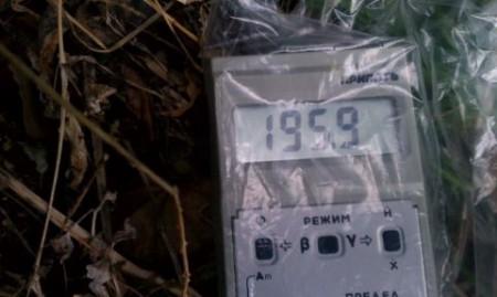 250 μSv/h in Namie machi