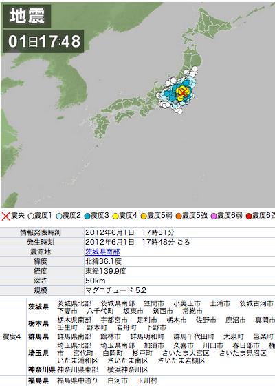 M5.2 Tokyo