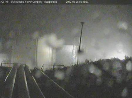 [Now] Typhoon 04 is hitting Fukushima 3
