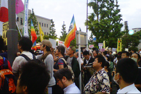 [Hydrangea revolution] 45,000 joined demonstration against the restart of Ohi nuclear plant 17