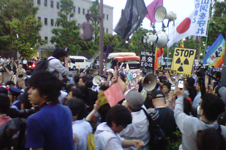 [Hydrangea revolution] 45,000 joined demonstration against the restart of Ohi nuclear plant 18