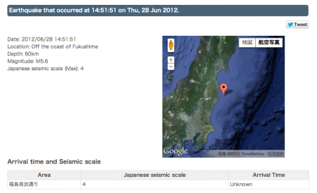 M5.6 hit Fukushima and radiation level spiked 3 hours later