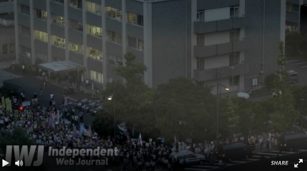 [Photos] Historical demonstration occupied official residence35