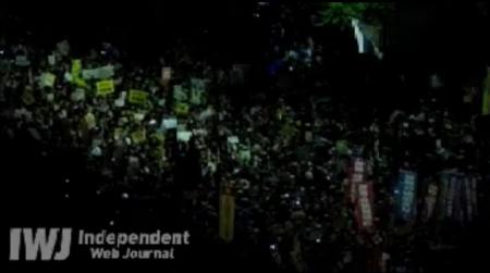 [Live] Demonstration gone out of control. Ordered to stop. 7