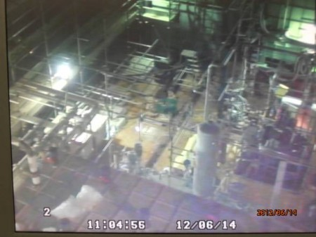 1.32E+9/m3 of cesium leaked from decontamination system of Areva