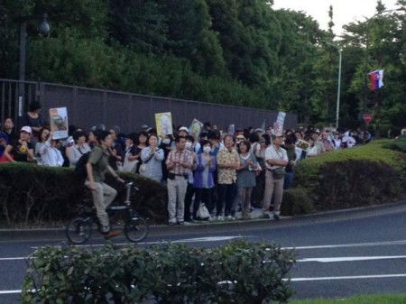 [Photos] Historical demonstration occupied official residence39