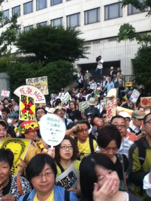 [Photos] Historical demonstration occupied official residence38