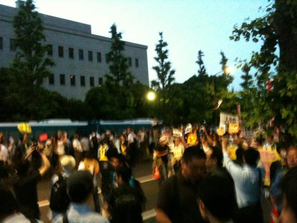 [Photos] Historical demonstration occupied official residence27