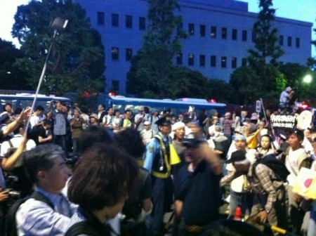 [Photos] Historical demonstration occupied official residence23