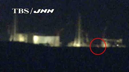 [JNN live camera] Red light between reactor 4 and 3