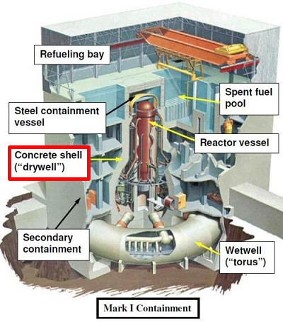 """Fukushima worker """"Shroud was being replaced when 311 happened, pipes of drywell are cut off."""" 2"""