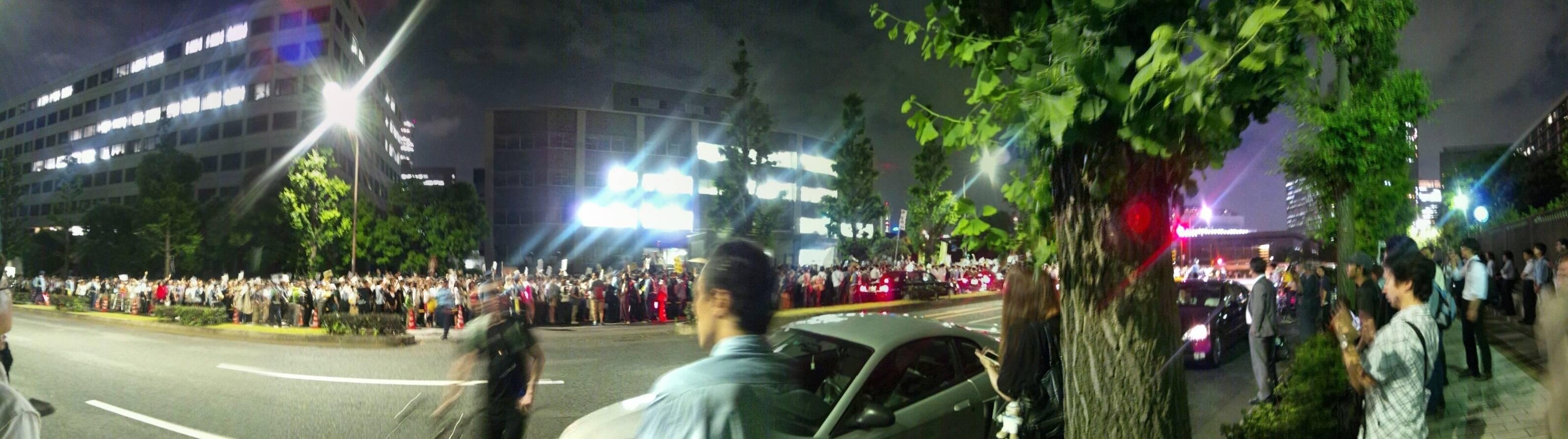 [Hydrangea revolution] 45,000 joined demonstration against the restart of Ohi nuclear plant 25