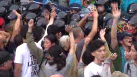 [Live] Police started pre-emption against the protest 2