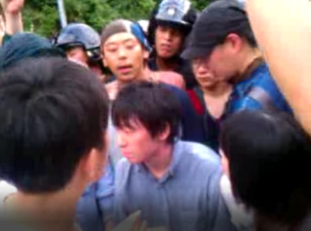 [Live] Citizens resisting against pre-emption. Police caught crying. 6