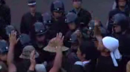[Live] The protest is being forcibly removed 2