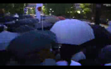 [Live] Police blocks official residence 8