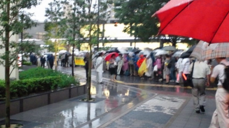 [Ajisai Revolution] Protest is ongoing in Osaka, Nagoya and Sendai too2