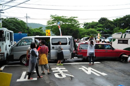 [Ajisai Revolution] Photos of the 7/1 protest at Ohi plant 27