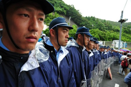 [Ajisai Revolution] Photos of the 7/1 protest at Ohi plant 23