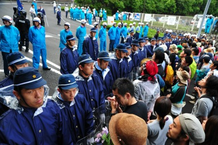 [Ajisai Revolution] Photos of the 7/1 protest at Ohi plant 24