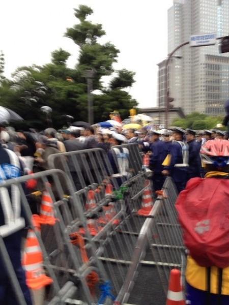 [Ajisai Revolution] Protest on vehicles3
