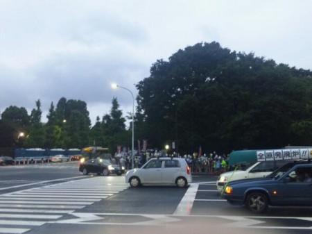 [Ajisai Revolution] Protest on vehicles10