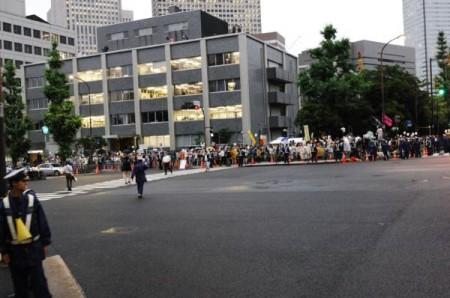 [Ajisai Revolution] Photos of the protest on 7/20/2012 4