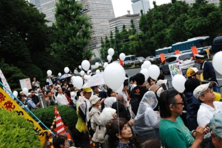 [Ajisai Revolution] Photos of the protest on 7/20/2012 8
