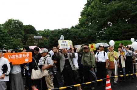 [Ajisai Revolution] Photos of the protest on 7/20/2012 10