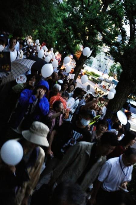 [Ajisai Revolution] Photos of the protest on 7/20/2012 12