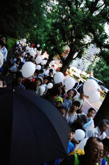 [Ajisai Revolution] Photos of the protest on 7/20/2012 11
