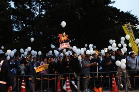 [Ajisai Revolution] Photos of the protest on 7/20/2012 13