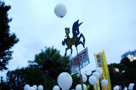 [Ajisai Revolution] Photos of the protest on 7/20/2012 21