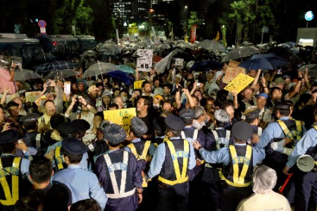 150,000 joined protest but police kept people underground uncounted 21