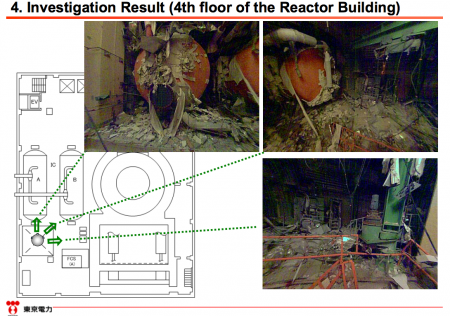 [This is not a joke] Tepco flew a balloon to research reactor1 but it stopped by a cable. 4