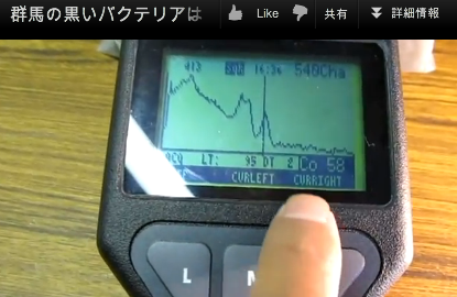 "Cobalt 58 was detected in Gunma, half-life is 71days, ""Possibile recriticality around after April"""