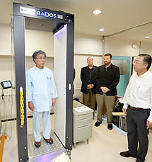 "Fukushima hospital imported new WBC equipment, distributer ""It can't measure internal exposure"""
