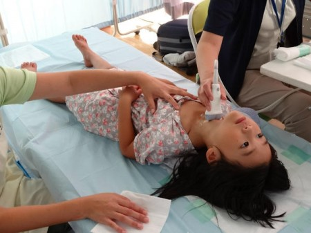 Thyroid cancer found from Fukushima children