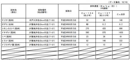 [Bioconcentration?] 1,430Bq/Kg from banded houndshark in 2km area of Fukushima Plant 3